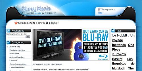 Films blu ray 3D