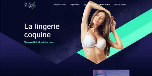 Vente de lingerie en ligne