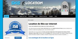 location de skis