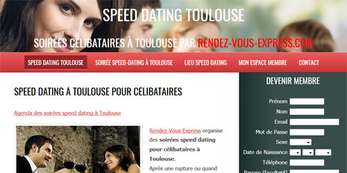 speeddating sur Toulouse
